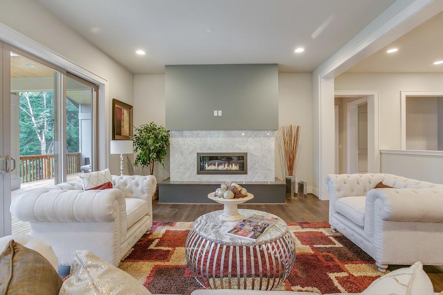Living room sm custom homes seattle bellevue scott for Living room newcastle