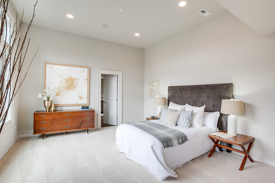master bedroom custom homes seattle bellevue scott