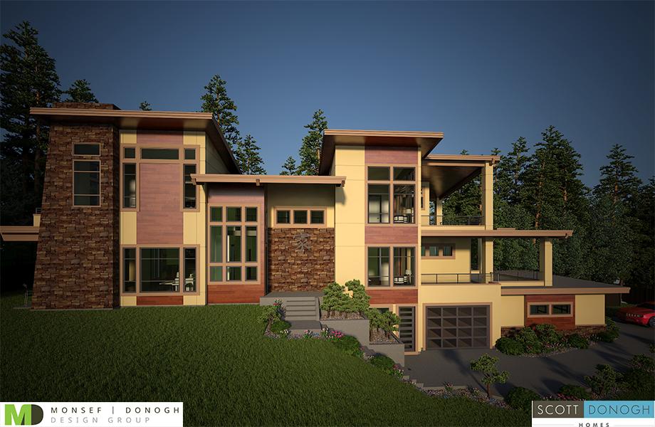 Bellevue the shangri la custom homes seattle bellevue for Luxury home builders louisiana