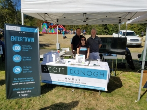 newcastle days 2016 scott donogh homes booth