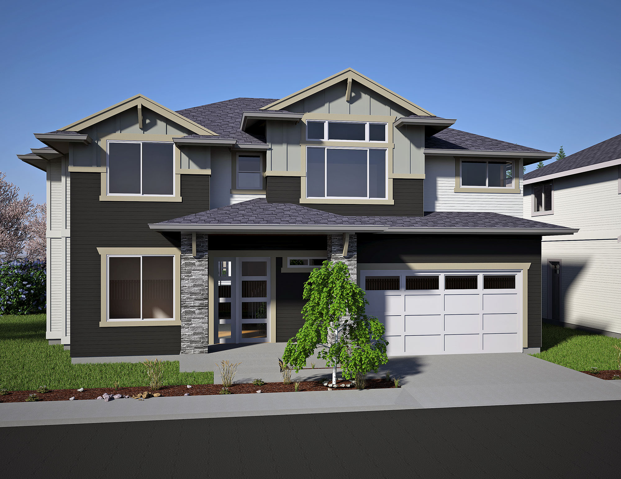 680 olympia ct ne lot 1 custom homes seattle bellevue for Olympia home builders
