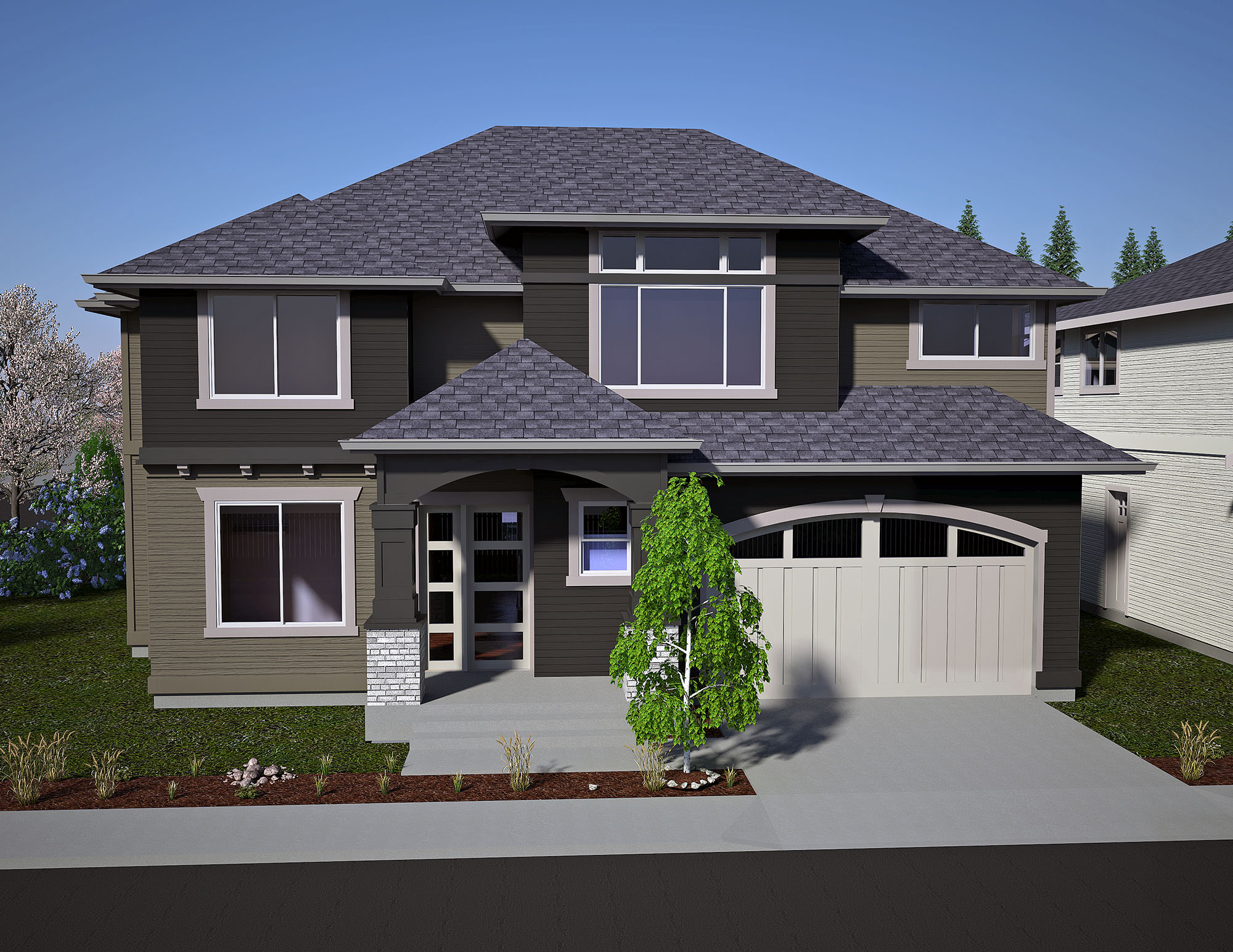 668 Olympia Ct Ne Lot 3 Custom Homes Seattle Bellevue