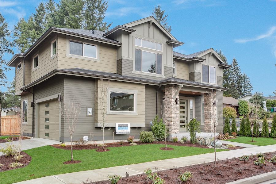 Magnolia Place Lot 1 Custom Homes Seattle Bellevue